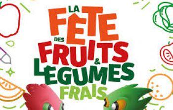 Illustration : Les fruits et légumes frais en fête du 16 au 25 juin 2017