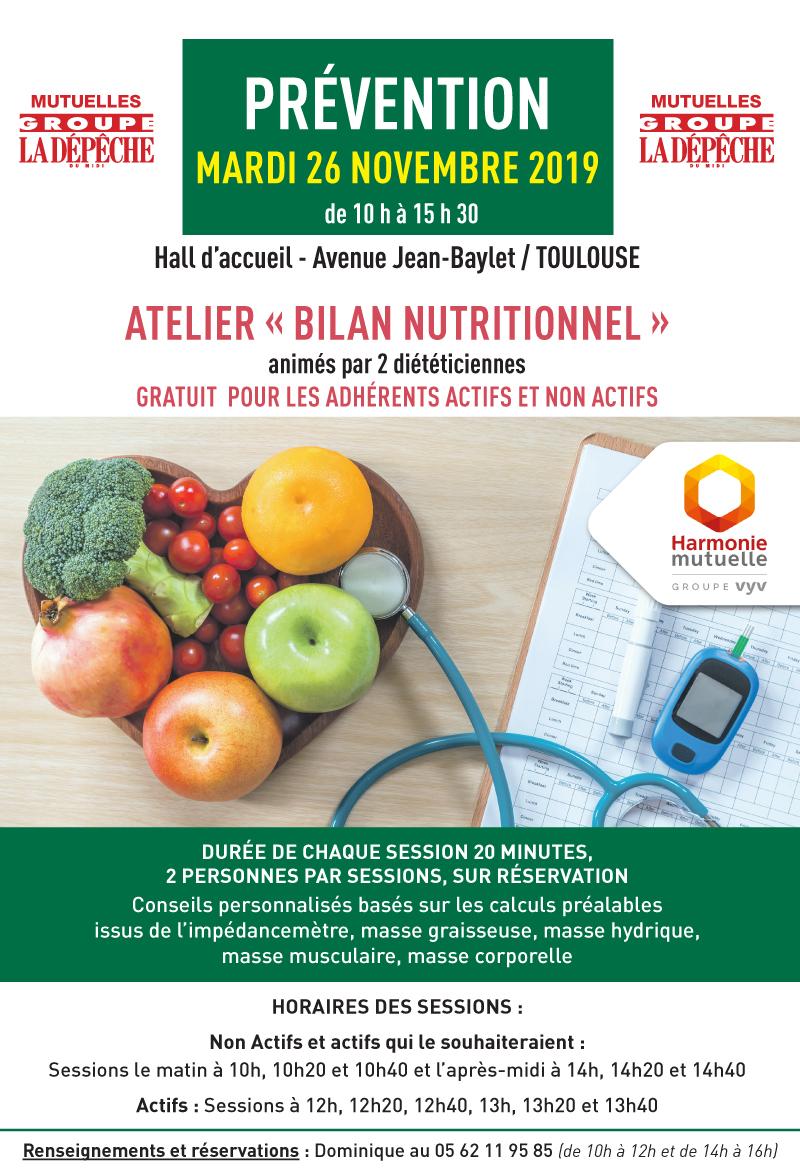 Journée de prévention à Toulouse sur la nutrition