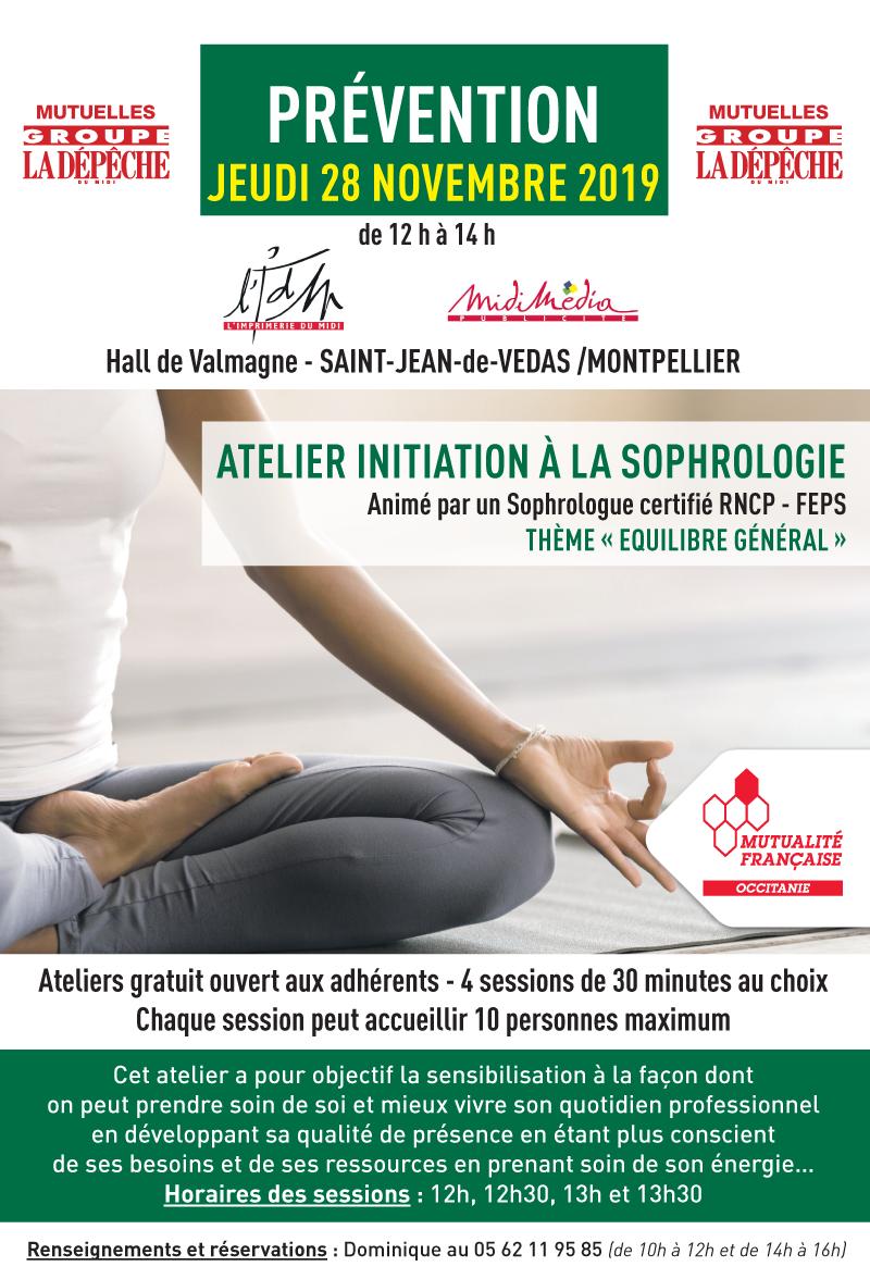 Journée de prévention à Montpellier sur la sophrologie